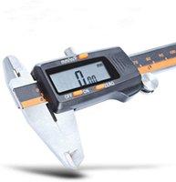Нержавеющая сталь Электронный цифровой ЖК-телесвязный / миллиметр / фракции Преобразование микрометр 0-6 дюймов 0-150 мм