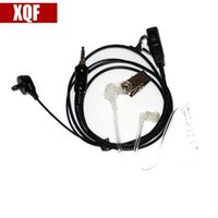 Walkie Talkie XQF Radio Ear Piece   Headset For 2-Way TK-2107 TK-3107