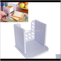 Baking Pastry Tools Foldable And Adjustable Bagel Loaf Sandwich Bread Slicer Toast Slice Cutter Mold Gboik Jkwxy