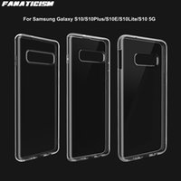 50pcs lot 1mm Soft TPU Anti-knock Clear Phone Cases For Samsung Galaxy S10 S10Plus S10E S10Lite 5G-S10 Protection Cover