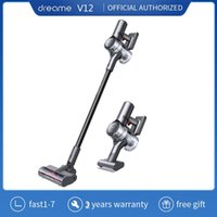 Dreame V12 Cordless Vacuum Cleaner 27000Pa 550W Powerful Suction LED HD Color Screen Wireless Handheld Aspirator For Home Cleaners