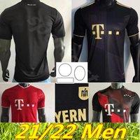 2021 2022 Spielerversion Bayern Soccer-Trikots Sane Zirkzee Goretzka Müller Tolisso Lewandowski upamecano München Coman Kimmich 20 21 22 Fußball-Hemd