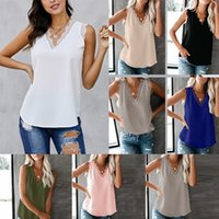 Women Camisole Sexy Ladies Tanks Camis Loose Bottoming Lace Vest Woman Clothes Summer Cool Casual Daily Home Tourism 8 Colours