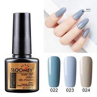 Nail Gel SLOOMEY Gray Polish Varnishes Hybrid Nails 20 Colors 8ml Semi Permanent Soak Off UV Base Top Coat