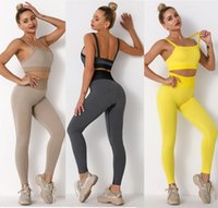 Tracksuits Womens Designer Yoga wear active Set outfits for Woman crop top bra sport leggings Casual gym Tracksuit suit Tech fleece track pant big hip new style girls