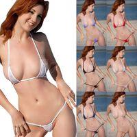 Sexy Women Micro Thong Underwear G-String Bra Bikini Brazilian Set Swimwear Sleepwear Women's