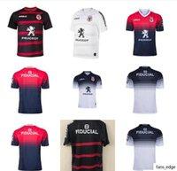 Toulouse Munster City Rugby Trikots 2021 Neues Zuhause weg Toulouse Stadium Fans League Jersey Blueprint Ruth Freizeit Sporttraining