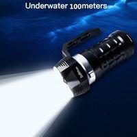SOFIRN SD01 6000LM мощный дайвинг Light 3 * SST40 LED Dive Flashlight подводный факел 4 режима магнитный контрольный выключатель