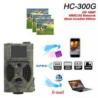 """HC-300A الصيد درب الكاميرا GPRS MMS 12MP 1080P IR للرؤية الليلية الرقمية 5MP اللون CMOS IP54 في الهواء الطلق الفيديو 2 """"TF Cameras1"""