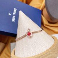 Other Bracelets Shijia tiktok's heart gourd to the year SWAROVSKI crystal bracelet chain female voice