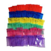 2x3cm 두께 0.12mm 다채로운 미니 지퍼 가방 투명 플라스틱 포장 가방 작은 플라스틱 지퍼 가방 지퍼 가방 ziploc