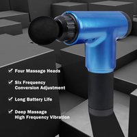 ارتفاع التردد تدليك بندقية العضلات الاسترخاء الجسم الاسترخاء الكهربائية مدلك massagem العضلات masajeador هزاز آلام التفريغ