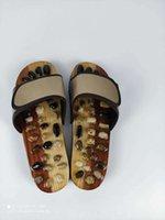 Sandali Dritto Sole Suola sanitaria sanitaria Massaggio Pebble Massaggio Acupoint Foot Terapia Scarpe Cool Female Estate