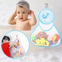 Storage Basket Baby Bathtub Toy Mesh Bag Organizer Holder Bathroom Organiser Cabinet Tool Bags