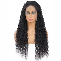 Lace Frontal Wig Peruvian Cheap Water Wave Wig Frontal Full Hd Transparent Fast Delivery Wigs For Black Women