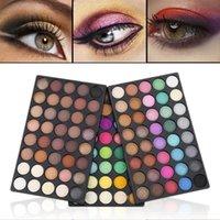 Eye Shadow Women's Fashion 120 Colors Eyeshadow Palette Cosmetic Matte Shimmer Pearl Lasting No Blooming Makeup Kits
