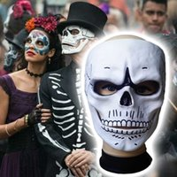 Movie 007 James Bond Spectrum Masker Skull Skelet Enge Halloween Carnaval Cosplay Kostuum Masquerade Ghost Party Hars Maskers