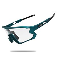 선글라스 블랙 PhotoChromic 사이클 안경 UV400 자전거 자전거 TR90 야외 스포츠 분극 Eyewear 1/5/6 렌즈