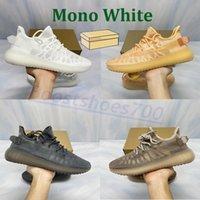 Yeni Erkek Koşu Ayakkabıları Mono Buz Mist Kil Kültür Beyaz MX Yulaf Kaya Erkek Kadın Sneakers Spor Açık Eğitmenler Kutusu Ile 5-13
