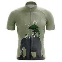 Men's T-Shirts Breathable Cycling Clothing Short Sleeve Ciclismo Shirt For UK Love Nature And National Bike Wear