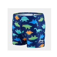 Kinderschwimmstämme Neue Cartoon Jungen 'Badeanzug Hohe elastische Schnelle Trocknende Heißes Frühling Big Boys' Badestämme und Schwimmkappe