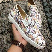 호주 플랫폼 디자이너 남성 여성 캐주얼 신발 고품질 새로운 패션 스니커즈 레드 바닥 슬립 - 실버 스파이크 장식 Toecap 큰 크기 12 13
