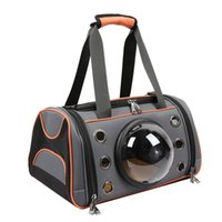 Cão de carro Cobre Pet Carrier Bag Espaço Forma Bolsa respirável Filhote de cachorro Outdoor Viagem Ombro Soft Kennel Grandes Cães Pequenos Gatos L
