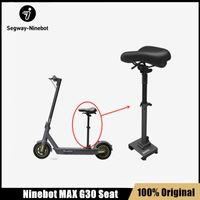 Siège d'origine pour Ninebot Max G30 Smart Smart Electric Scooter Pliable Skateboard Hauteur Réglable Selle Absorb Saddle Pièces de chaise
