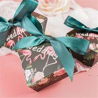Scatola di cuore di nozze fiore nastro a nastro regalo con scatole di nozze con scatole regalo per eventi di nozze FWF7754
