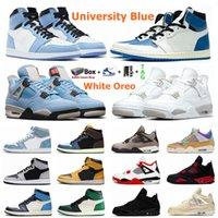 Erkek Üniversitesi Mavi 1 S Jumpman 1 Basketbol Ayakkabı Siyah Kedi 4 4 S Hype Kraliyet Gölge 2.0 Obsidiyen UNC Yelken Ne Beyaz Oreo Bred Spor Erkek Kadın Sneakers