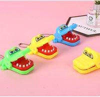 Novedad Mini Cocodrilo Toy Toy Party Game Apunts Llavero Padre-Niño Toys Interactive Llavero