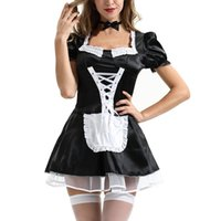 Women Maid Outfit Anime Dress Apron Lolita Dresses Cosplay Costume Lovely Animation#g30 Casual