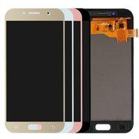 OLED SAMSUNG GALAXY A5 A520 LCD A520F SM-A520F Mostrar paneles táctiles Digitalizador de pantalla Reemplazo