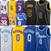 Los Angeles Lakers 24 Kobe Bryant jersey 23 LeBron James Basquete Jersey Black Mamba Jerseys Anthony Kyle Davis Kuzma Retro Nova Cidade Uniforme Vintage