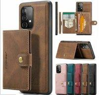 럭셔리 제이브 가죽 PU 지갑 케이스 Detachable Magnetic Card 홀더 아이폰 12Pro 12 11 Pro 7 8Plus Samsung
