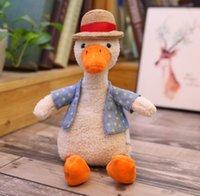 Куклы милые плюшевые игрушки трансграничные оптовая кукла желтая утка заправка