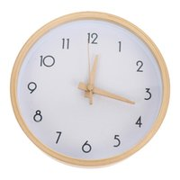 Wall Clocks 1pc Nordic Style Clock Household Hanging Wooden Decor