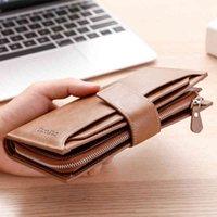 Wallets Unisex Women's Leather Men Card Holder Clutch Cartera Mujer Luxury Designers Pochette Uomo