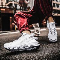 Männer Schuhe Sommer Atmungsaktive dünne Mesh-Oberfläche Sneaker Blade-Sharp Trainer vielseitig Trendy 2021New Spring Sneakers Herren
