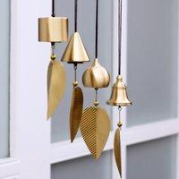 Pure Pure Copper Wind Bell Pendentif Exquis Creative Home Balcon Chambre à coucher Vent Bell Connexion Pendentif Anniversaire Cadeau d'anniversaire Fournitures de fête de fête 927 B3