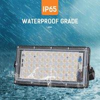 Projetor de clipe de luz de inundação à prova d'água ao ar livre DC12V 50W LED Xtra Lâmpada de Camping Brilhante Lâmpada Noite Luzes Portáteis Lanternas
