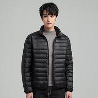 Luxury menswear Designer down jacket Brand cotton clothing men's lightweight short hooded autumn and winter fashion collar coat trend whi