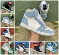 1 ts x fragment fragment Patina Hyper Université Royal Blue Basketball Chaussures Hommes 1S Dark Mocha Shadow 2.0 Lumière Fusion Rouge Bred Bred Toe Chicago Twist Bio Hack Hack Hackers Sneakers