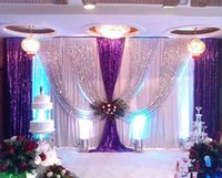3m*6m Wedding Backdrop Swag Party Background Cloth Curtain Celebration Stage Performance Satin Drape Wall Decoration