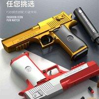 Shell Wurfwüsteadler Weiche Kugel Glock Kinderspielzeug Hot Gun Simulation M1911 Modell