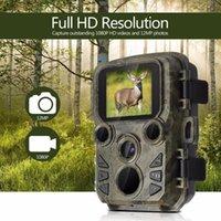 Mini-Jagd-Kamera 12MP 1080p Wildlife Trail Fotofalle Wasserdichte Videorecorder-Kameras für Sicherheitsfarm Schnelle Triggerzeit