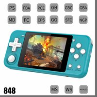 POWKIDDY Q90 3-inch IPS screen Handheld dual open system game console 16 simulators retro PS1 kids gift 3D DHL 848D