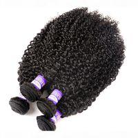 9а Монгольская странная вьющиеся вьющиеся волосы девственницы 3 4 связки REMY волосы странные вьющиеся вьющиеся ткани необработанные человеческие волосы плетение натуральный цвет 10-28 дюймов