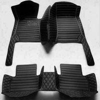 Custom Car Floor Mats für Honda Civic 4 Türen 2005-2020 Wasserdichte Matte