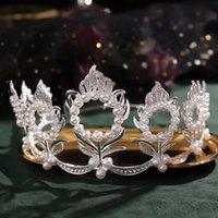 Hair Clips & Barrettes Bridal Crown Headwear Luxury Alloy Rhinestones Inlaid Headband For Female Wedding Birthday Accessories 3408 Q2